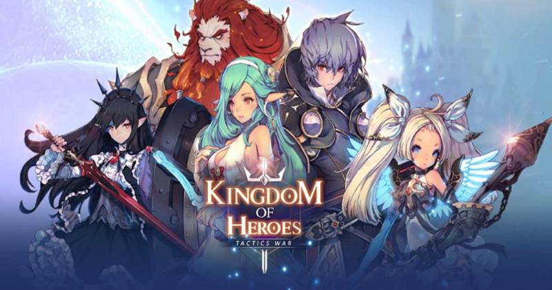 Kingdom of Heroes Tactics war How to Reroll | The Best Reroll Guide 2021