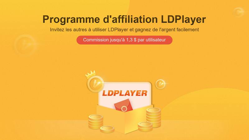 Programme d'affiliation LDPlayer