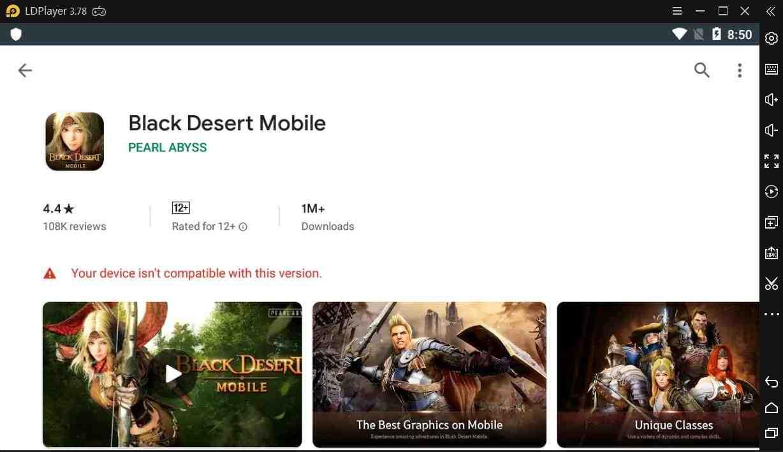 Solusi untuk perangkat Anda tidak kompatibel dengan versi ini di Play Store