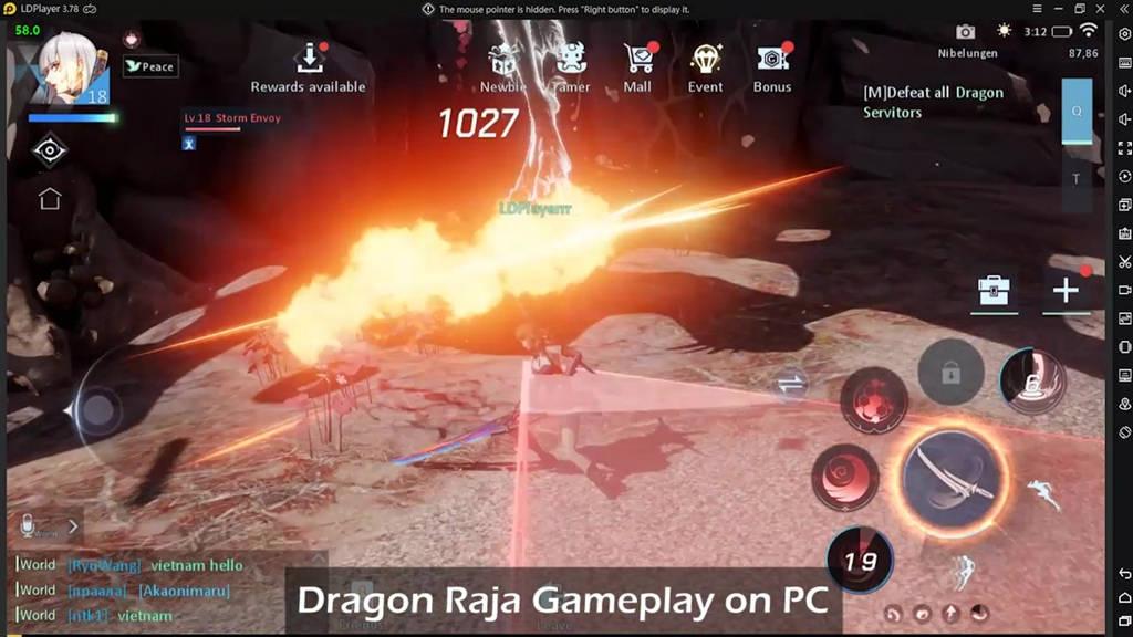 Dragon Raja di PC: Best Emulator&Settings (60FPS)