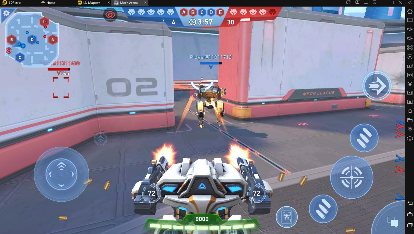 Играть в «Mech Arena: Robot Showdown» бесплатно на пк