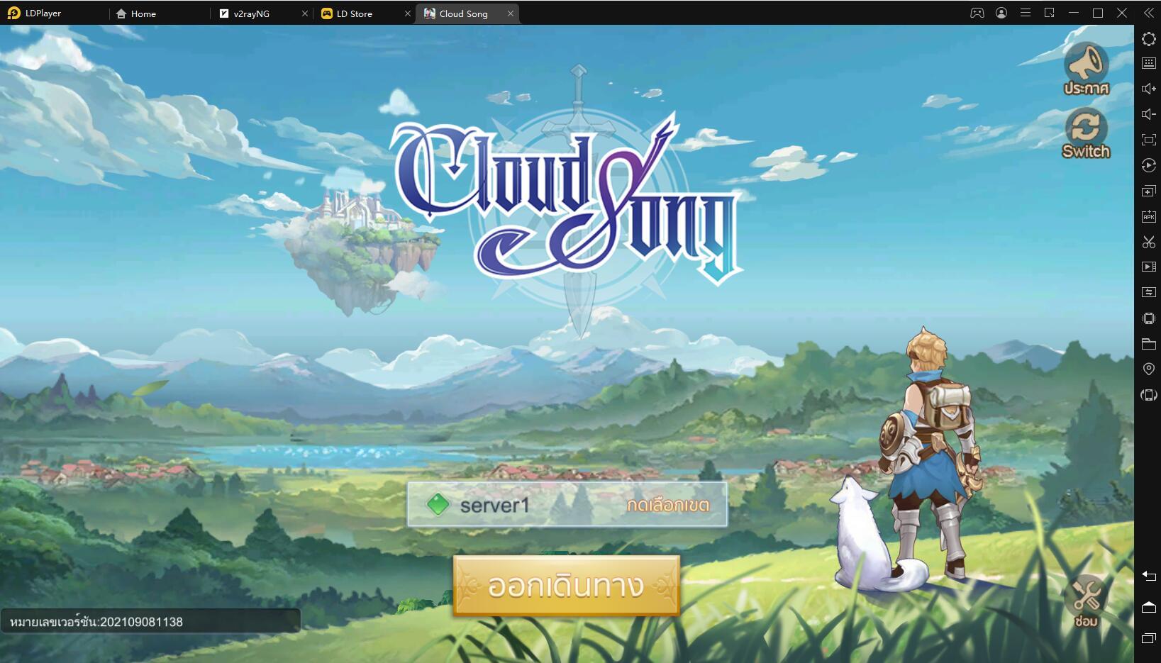 วิธีการติดตั้งและการเล่นเกมCloud Song - บทกวีแห่งท้องฟ้า บน PC