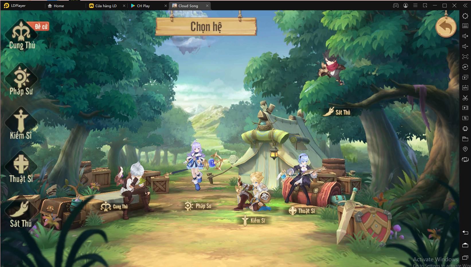 Chơi Cloud Song: Vân Thành Chi Ca trên PC cùng LDPlayer
