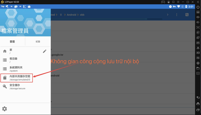 Cách cài đặt trong LDPlayer, giải nén tệp cài đặt ứng dụng và trò chơi