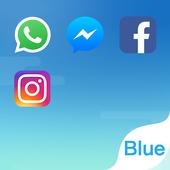 Dual Space - El Tema Fresh Blue on pc